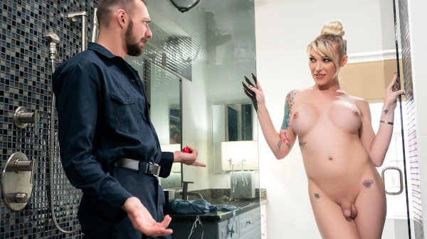 Watch Unplug It featuring Aubrey Kate, Johnny B Transgender Porn