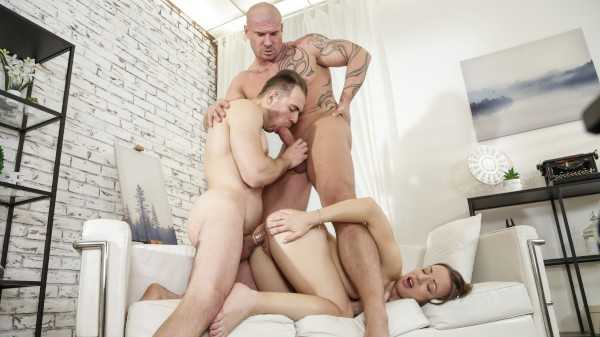 Bi Cuckhold 4 Scene 1 - It's Boyfriend Day! Bisexual Orgy on Bi Empire with Max Born