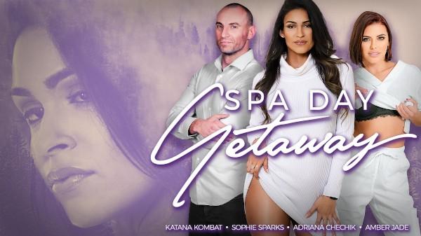 Spa Day Getaway - Adriana Chechik, Katana Kombat, Stirling Cooper, Sophie Sparks, Amber Jade