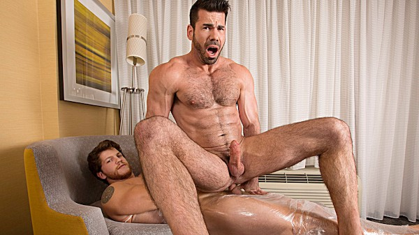 Watch Billy Santoro, Ashton McKay in Raw Tension Part #2, Scene 1