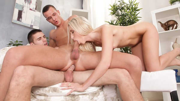 Bi Sexual Cuckold #05 Scene 2 Bisexual Orgy on Bi Empire with Jenny Simons