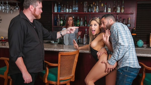 Happy Hour Hideaway with Abella Danger, Damon Dice at sneakysex.com