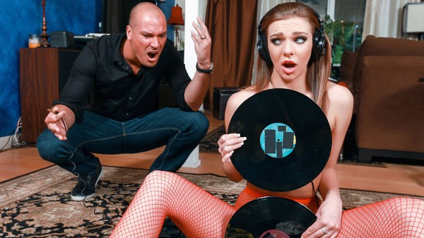 Vinyl Vixen with Sean Lawless, Tiffany Watson at teenslovehugecocks.com
