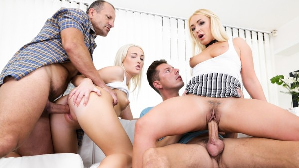 Mother & Daughter Swapping Cock #02 Scene 1 Reality Porn DVD and Orgies on DogHouseDigital with Amber Deen
