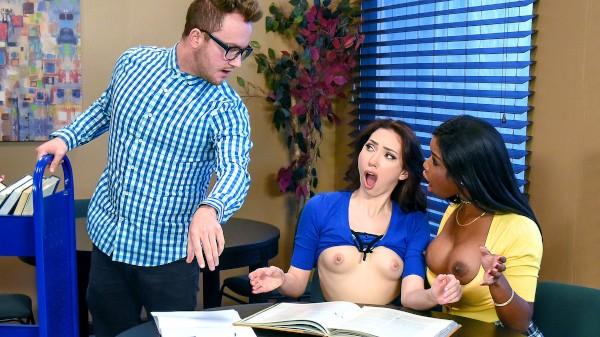 Study Group - Van Wylde, Mya Mays, Aria Alexander