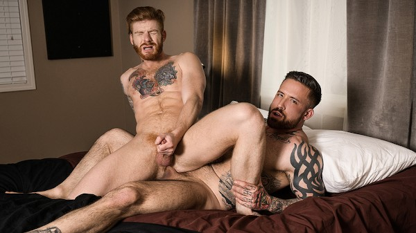 Watch Bennett Anthony, Jordan Levine in Inked Breeding, Scene 1