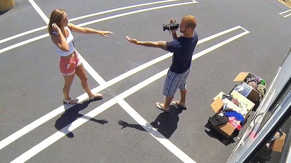 Watch Kelly Greene in Ohio Hottie Banged in the RV