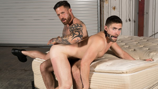 Watch Griffin Barrows, Jordan Levine in Warehouse Chronicles: Spanked Raw, Scene 1