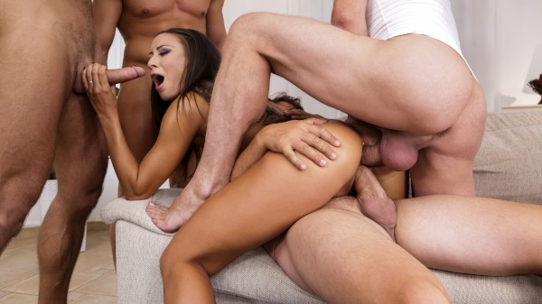 4 On 1 Gang Bangs 13 Scene 2 Reality Porn DVD and Orgies on DogHouseDigital with Cassie Del Isla