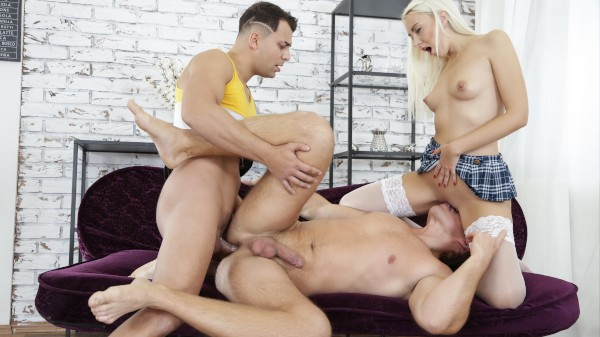 Bi Curious 7 Scene 2 Bisexual Orgy on Bi Empire with Don Diego