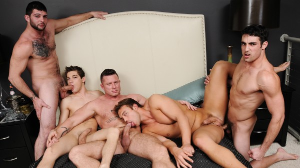 Tops Only Required - feat Rocco Reed, Johnny Rapid, Jack King, Tony Paradise, Charlie Harding