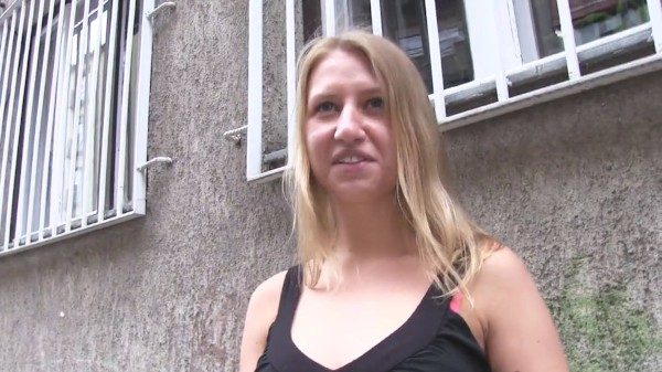 Watch Milana Blanc in Nervous Russian accepts cash for sex from stranger
