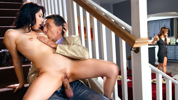 Guess Who's Cumming To Dinner - Steve Holmes, Aria Alexander