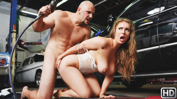 Rich Girl Gets Greasy with JMac, Lena Paul at bignaturals.com