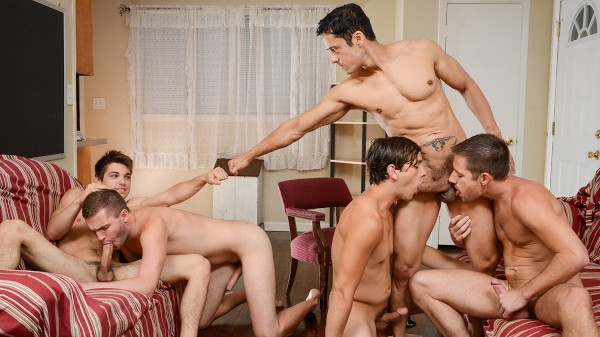 My Neighbor's Son Part 4 - feat Johnny Rapid, Dylan Knight, Zac Stevens, Rafael Alencar, Jack Radley