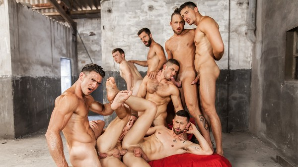 Sense 8 : A Gay XXX Parody Part 5 - feat Darius Ferdynand, Paddy O'Brian, Gabriel Cross, Jay Roberts, Hector De Silva, Sunny Colucci, Dato Foland, Logan Moore