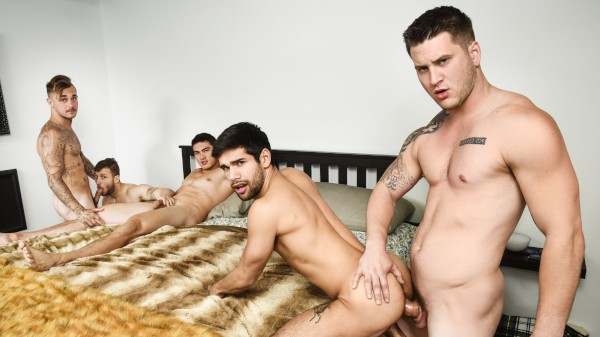 Pass The Bottom Part 3 - feat Axel Kane, Allen Lucas, Brian Michaels, Ty Mitchell, Nicolas Ryder