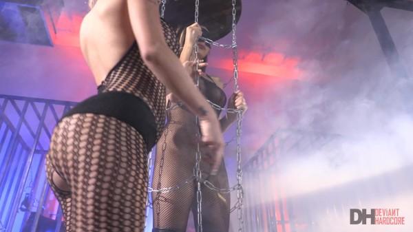 Kat Dior dominates her sexy lesbian sub Nina North
