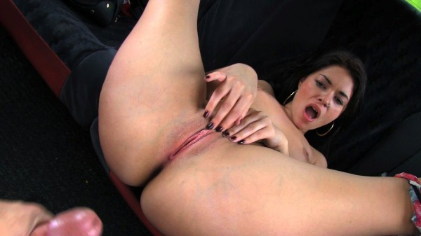 Watch Ava Dalush in Natural Beauty Gets Drenched in Cabbie's Cumshot