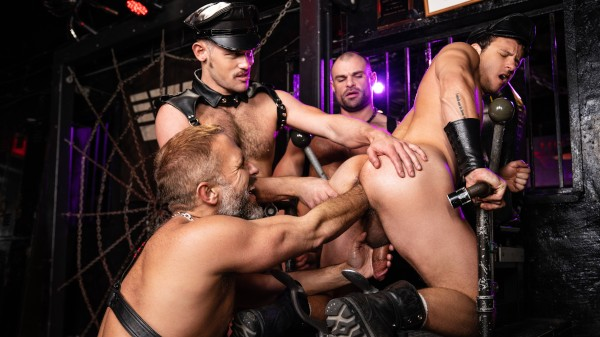 Tom Of Finland: Leather Bar Initiation - feat Dirk Caber, Kurtis Wolfe, Nate Grimes, Jaxx Thanatos