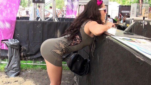 Watch Crystal Rush in Festival Chick Takes the Dick