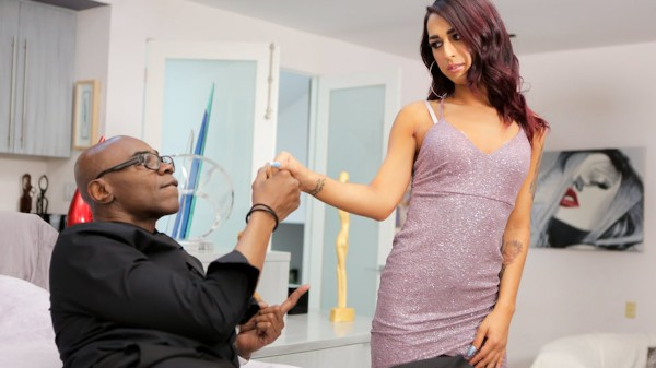 TS Call Girl Chronicles Scene 2 Shemale DVD on TransSensual with Khloe Kay, Sean Michaels