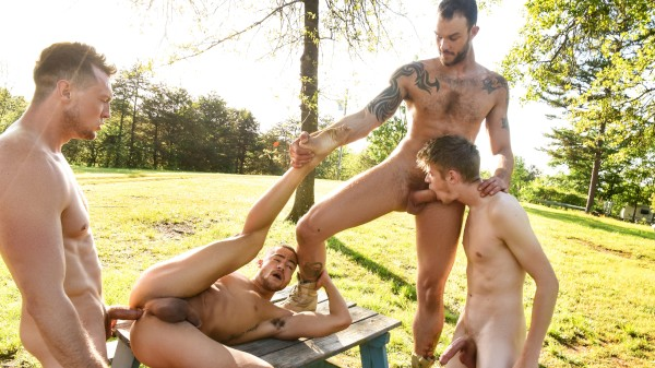 The Legend of Big Cock Part 3 - feat Pierce Paris, Beaux Banks, Cliff Jensen, Oliver Dean