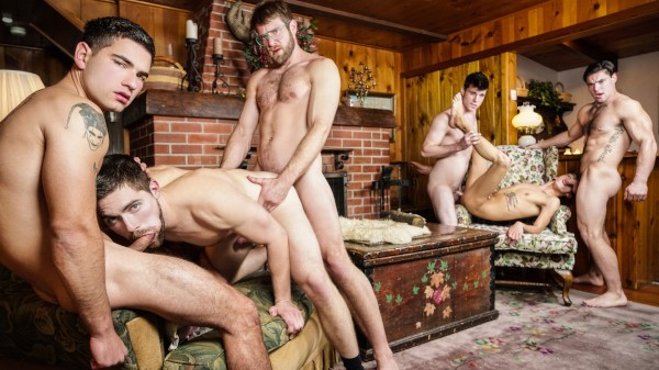 Twink Peaks Part 4 - feat Aspen, Vadim Black, Colby Keller, Xander Brave, Griffin Barrows, Noah Jones