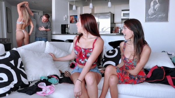 Watch Janice Griffith, Belle Sparkles, Kiara Knight in Sexy Send-Off!