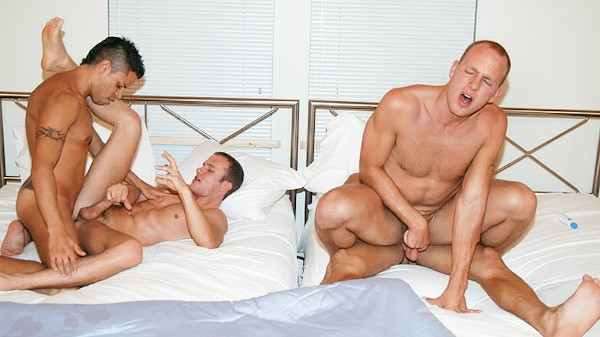 Latino Lust - George, Ryann, Nickolay, Corbin