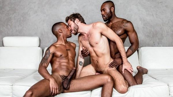 New Stepbrother Threeway Scene 1 - NoirMale Scene