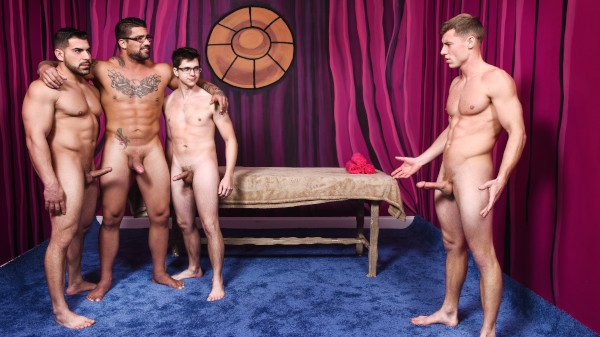 Men Bang Part 4 - feat Ryan Bones, Will Braun, Justin Matthews, Damien Stone
