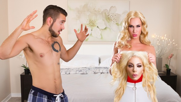 Watch Face Swap featuring Nicolette Shea, Dante Colle, Dita Dior Transgender Porn
